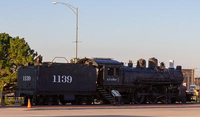 Steam Locomotive in Dodge City, Kansas