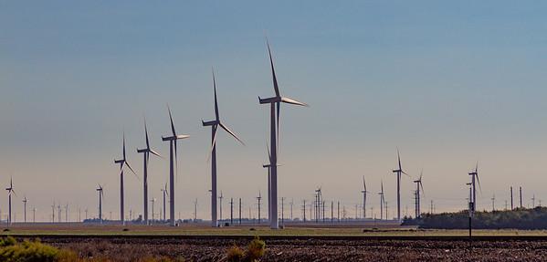 Wind in Kansas along Rt. 50