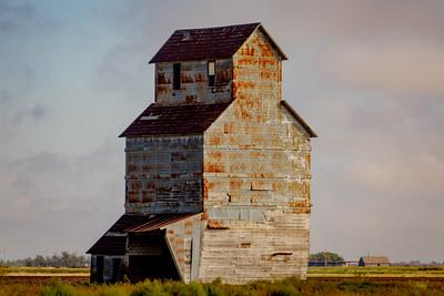 Rusty Grain Bin in Kansas
