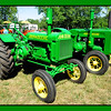 """John Deere """"General Purpose""""<br /> <br /> The """"GP"""" or General Purpose John Deere tractors were built from 1928 until 1935. They were available in several configurations, wide and narrow front ends as well as rubber and steel wheels.<br /> The John Deere company was proud to announce that these GP's could do the work of 8 to 10 horses...! A HUGE advantage of tractors over horses is that when the tractor is not needed, it does not need to be fed, watered or cleaned up after...!!"""
