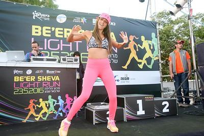 LIGHT RUN BEER SHEVA 2016