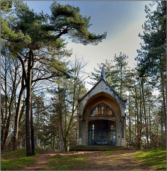 Vlaams Brabant - Kroningskapel OLV van het Heilig Hart in Averbode