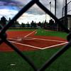 Baseball Field Fence Frame (Framing)