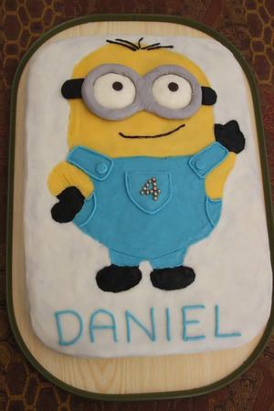 Daniel birthday cake from Grandma