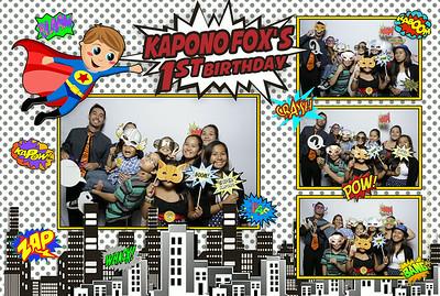 Kapono Fox's 1st Birthday Party (Fusion Portraits)