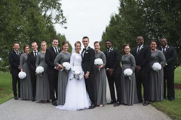 Kara + Justin Wedding