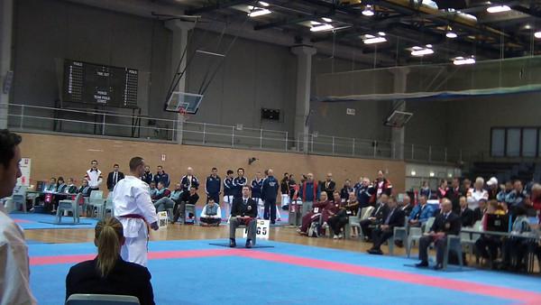 Men's Open Kata Final - 2nd Place Michael Hanna