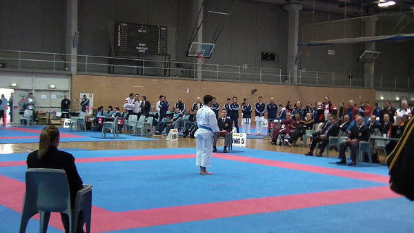 Men's Open Kata Final - 1st Place James Giuliano