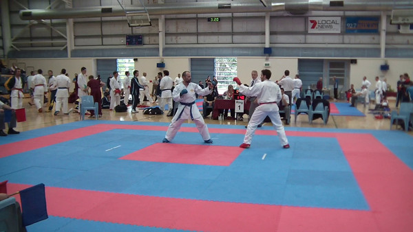 Mens Over 35Yrs Kumite