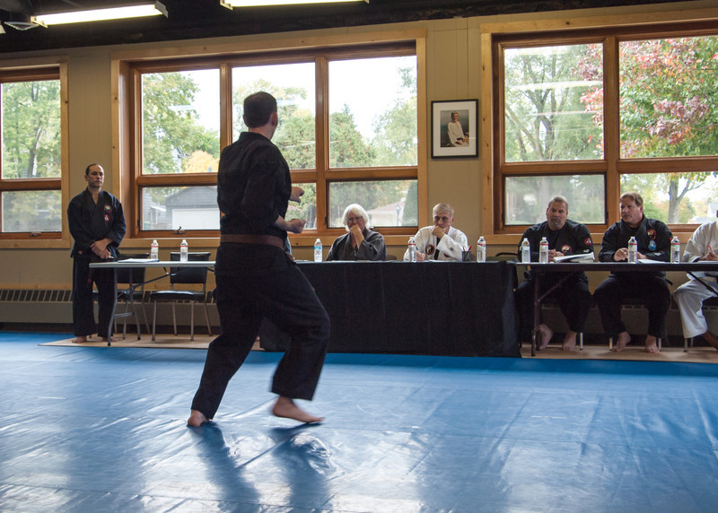 October 6, 2012 Shodan Board of review for Iza, Carlos, Josh, and Rob in Grayslake, IL