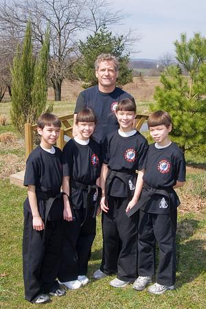 First Degree Black Belt Test - March 2010