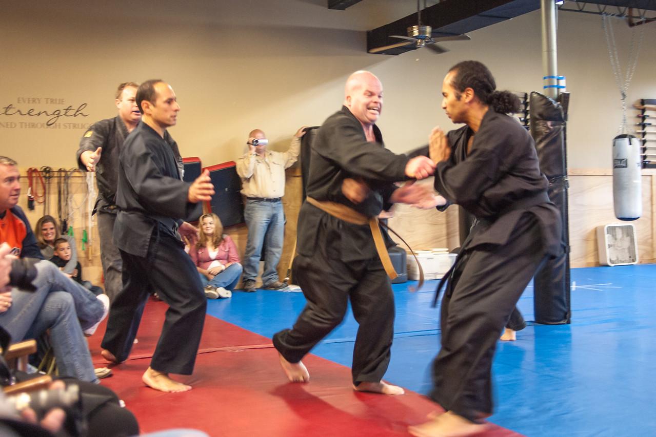 October 6, 2012 Shodan Board of review for Iza, Carlos, Josh, and Rob in Grayslake, IL