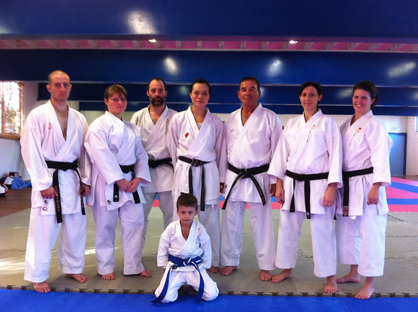 Seminar with Krisina Mah (on my left), 2010 WKF >60kg World Champion and her coach George Barounis