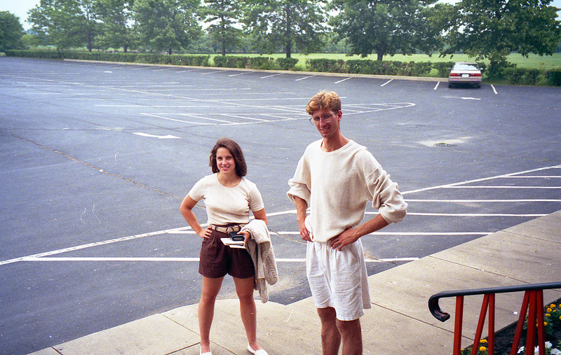 July 8, 1994 Par-King Mini golf Lincolnshire, IL<br /> Chris, Kimberly
