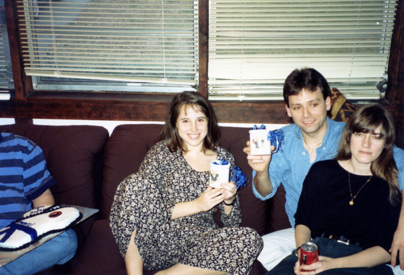 February 19, 1993<br /> Kimberly, Roger, Barb