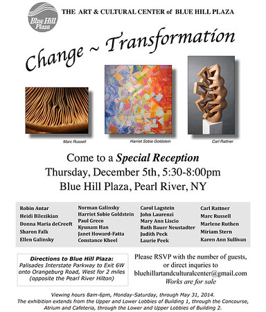 Change ~ Transformation Group Exhibit