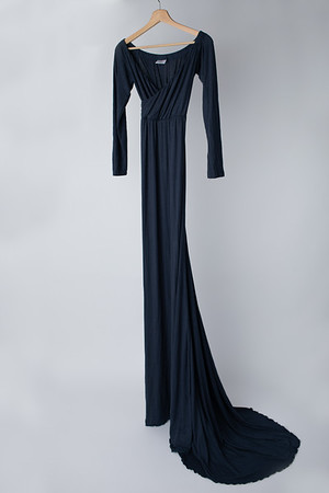 Steel Blue Grace Gown  (Suggested Size: 4-14)