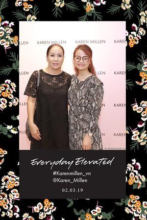 """Karen Millen """"Everyday Elavated""""  event photobooth in Saigon - in ảnh lấy liền sự kiện tại Hồ Chí Minh"""