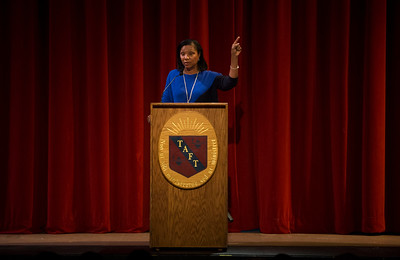 Karen Stevenson '75 Morning Meeting speaker