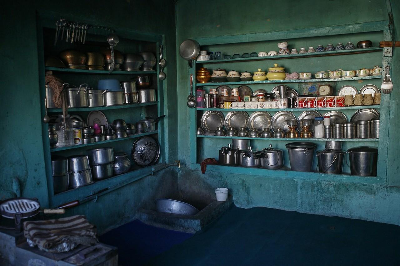 House at Dras, Kargil, India