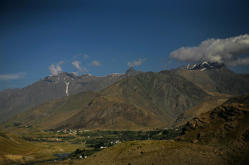 Landscape at Dras, Kargil, India