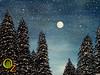 Moon over Land of Oz, (Kari Dickinson, Acrylic) 11/22/2015