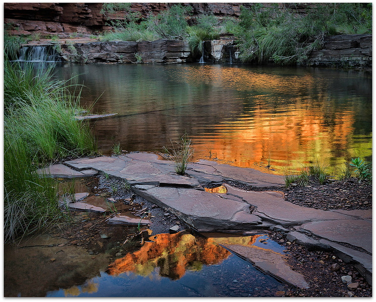 Dales Gorge reflections