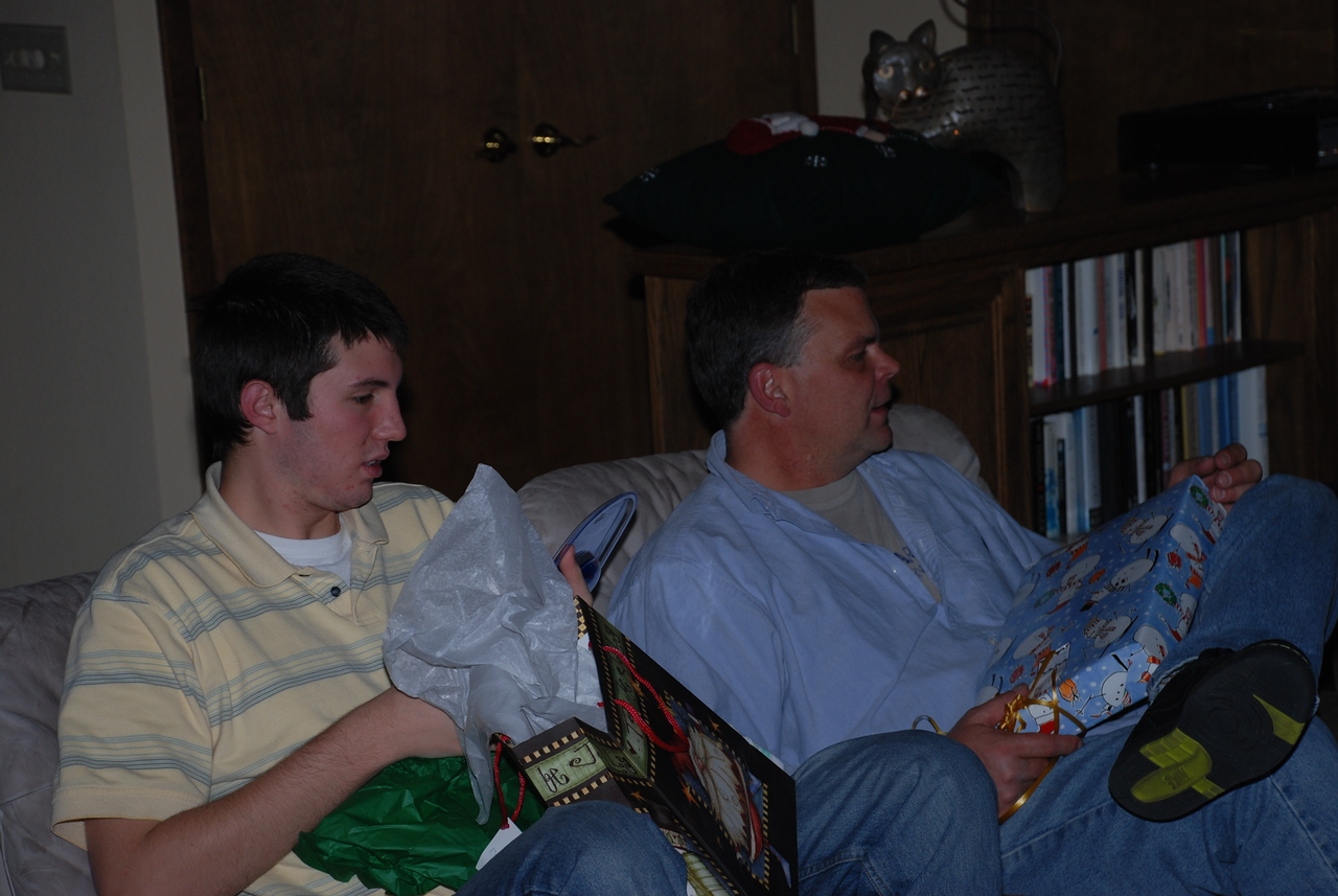 Nephew Cody and Uncle Karl