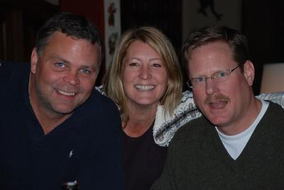 Karl, Linda, and Brian