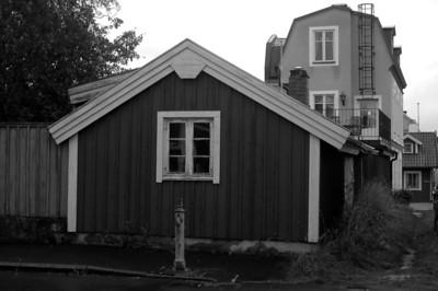 Gammal vattenpump, Björkholmen Korsningen Galérgatan/Henrik Trollesgatan