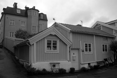 Björkholmen Korsningen Galérgatan/Wachtmeistergatan