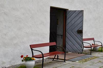 Kyrkport - Kristianopels kyrka