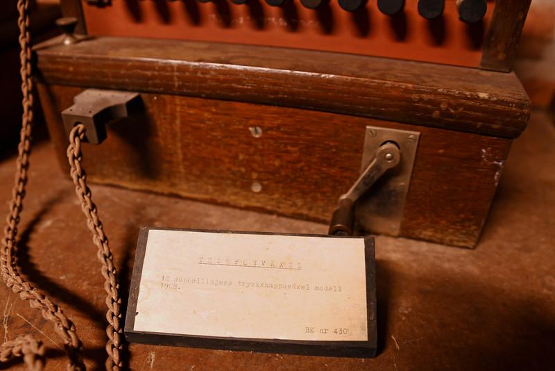 Gammal telefonväxel