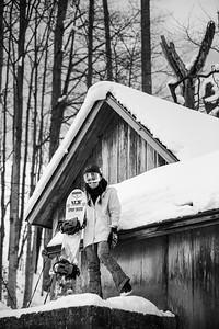 Karly Shorr (Pumphouse Candids) B&W-6