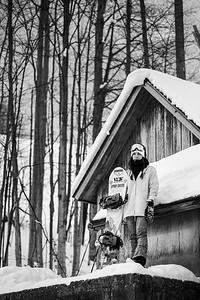 Karly Shorr (Pumphouse Candids) B&W-5