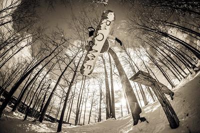 Karly Shorr (Log Rail) 1(B&W)