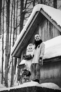 Karly Shorr (Pumphouse Candids) B&W-4