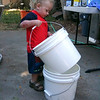 Tannon is a very helpful boy! He can has buckets!