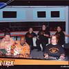 USS KPP's bridge crew (from left to right: Greg, Jorge, Anna, Kati, the imprisoned Captain Tadpole, Kirsten & Michael)