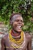 Laughing Karo Woman