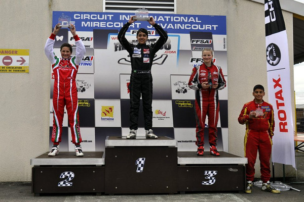 2013 Swiss Rotax Challenge race #2 Mirecourt : 3rd place