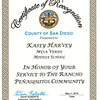 County of San Diego: 3rd. District Supervisor
