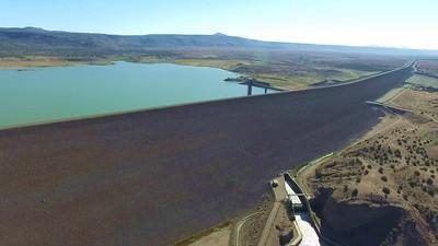 1 Cochiti Dam on Rio Grande