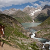 Sheshnag en route Amarnath, Kashmir, India