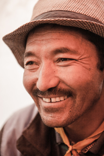 Man from Sani village in Zanskar, India