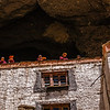 Monks living in caves, Phuktal monastery, Zanskar, India