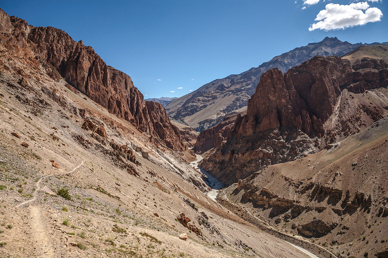 Trek to Phuktal monastery, Zanskar, India