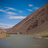 Landscapes en route Tso Moriri, Ladakh, India