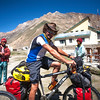 Volunteers from Europe on cycling their way to Zanskar
