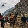 Four means of transport for the Amarnath yatra, India